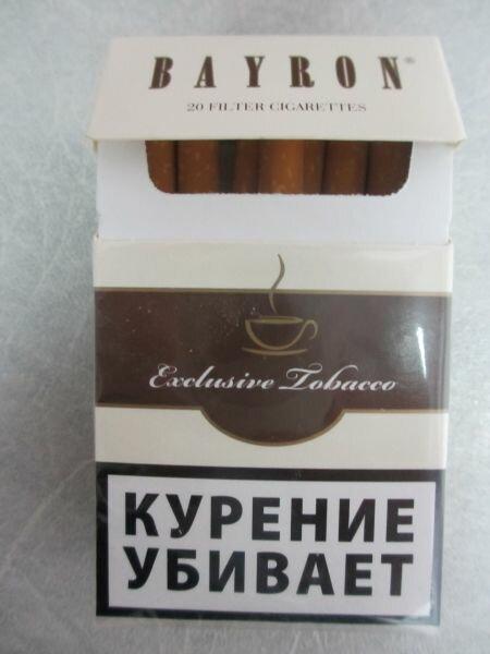 Купить сигареты байрон в москве купить сигареты дешево в спб от блока белорусские